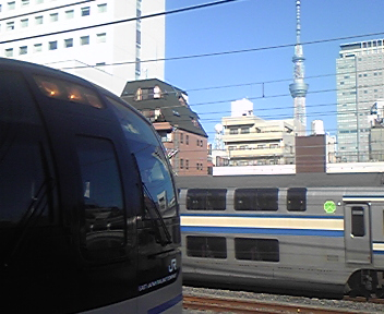 クハE217-49<br />  乗車