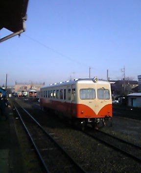鹿島鉄道へ